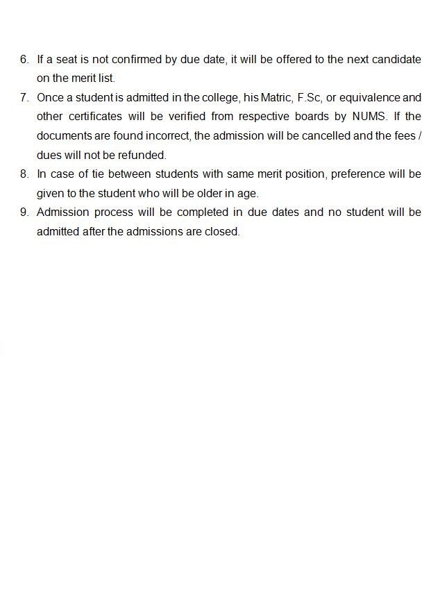 Admission Policy Page 2